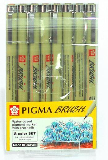 8 brush pen