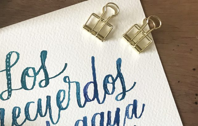 color letras